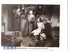 Nina Foch bound w/rope VINTAGE Photo Escape In The Fog
