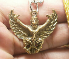 GARUDA PHAYA KRUT MAGIC EAGLE BIRD AMULET LIFE PROTECTION GUARD PENDANT NECKLACE
