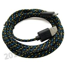 10 Ft Long USB Cord Micro Charger Cable for Samsung Galaxy S3 S4 4 III HTC Black