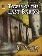 GameMastery Module: Tower Of The Last Baron, Paizo Staff, Good Condition, Book