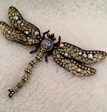 Joan Rivers Vintage Dragonfly Brooch