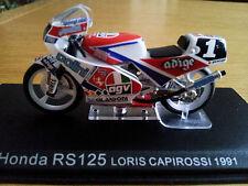 Ixo 1:24 Motorbike Honda RS 125 Loris Capirossi 1991 - Rare
