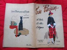 TRÈS PARISIEN La mode, le chic, l'élégance n°6 de 1921 French Fashion Art Déco