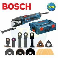 BOSCH gop55-36 Heavy Duty Star LOCK Oscillante Multi Tool LBOXX + 25pc KIT 110v