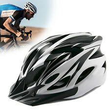 New Adjustable White Bicycle Bike Road Mountain Cycling Safety Shockproof Helmet