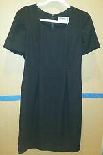 Prophecy by Sag Harbor Women's Little Black Dress, Lined, Short Sleeve, Size 8