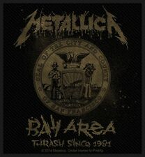 METALLICA - Patch Aufnäher - Bay Area Thrash 8x10cm