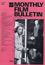 GENA ROWLANDS / SHELLEY DUVALL Monthly Film Bulletin Mar 1981