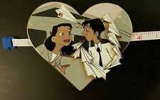 Disney Paperman Short Fantasy Pin Love First Sight Heart New Limited LE 35