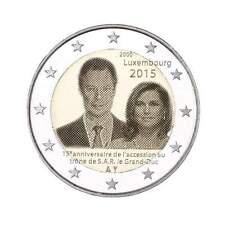 Lussemburgo  2€ 2015 accesso al trono del Granduca Henry FDC prevendita