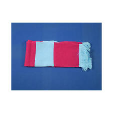 Claret & Sky Blue Retro Bar Scarf Football Rugby Team Fan Supporter Unisex