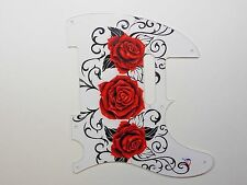 """Fender Telecaster Pick Guard- 2124 Customs """"Every Rose has..."""""""