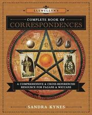 Llewellyn's Complete Book of Correspondences!  pagan wicca with