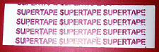 "Supertape 1"" Straight Strips pkg of 36 lace hairpiece wig toupee tape"