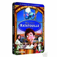 DISNEY DVD Ratatouille - (2 dvd) steelbook in metallo