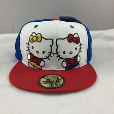Hello Kitty Mimi ADULT Baseball Cap Hat 40th Anniversary Embroidered Adjusts NWT