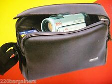NEW Universal Travel Camcorder / Camera Carrying Case Shoulder Bag W/Arm Strap