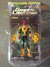 2008-DC DIRECT SINESTRO-GREEN LANTERN SERIES 3 YELLOW LANTERN MISP NM VHTF-CLEAN