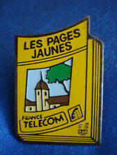 PINS FRANCE TELECOM LES PAGES JAUNES