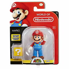 "World of Nintendo 4"" Super Mario with Coin Box Action Figure Wave 9"