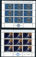 Briefmarken Jugoslawien Europa CEPT 1980 Nr 1828 - 1829 ** postfrisch BR143