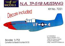 LF Models 1/72 TP-51B MUSTANG 336th FS Conversion Kit with Decals