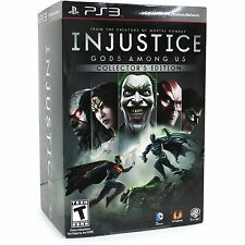 Injustice: Gods Among Us Collector's Edition (Sony Playstation) PS3 *NEW*