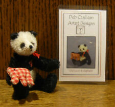 "DEB CANHAM Artist Designs OLD LOUIS, Old Friends Coll. 3.75"" LE Mohair"