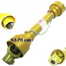 CARDAN 53-75 CM POUR FENDEUSE SUR PRISE DE FORCE TRAVAUX FORESTIER 530-750mm