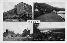 Essen Postamt Bahnhof Baldeney See AK Photographie