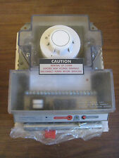 New National Time & Signal DDP-2 Universal Voltage Duct Smoke Detector