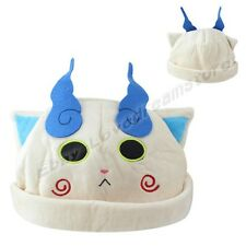 Cute! JP Anime Yo-kai Watch Youkai Watch Komasan Soft Cap Hat Cosplay Free Size