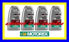 4 Litri Olio Motore 4 tempi MOTOREX Power Synt 4T 10W/50 100% Sintetico