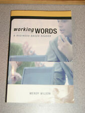 WORKING WORDS Business Based Reader 1e 2002 Wilson NEW