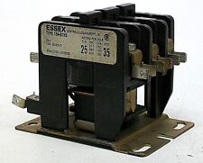 USED ESSEX 24V COIL CONTACTOR RELAY 50/60HZ TYPE 154-B1H3 KB