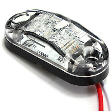 12V LED super White Side marker clearance Light Lamp Car Truck Trailer hot
