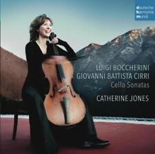 Jones,Catherine - Boccherini & Cirri: Cello Sonatas
