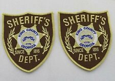 US The Walking Dead King County Sheriff patches Iron-on-two patches