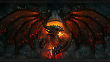 Poster 42x24 cm World Of Warcraft Dragon