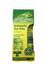 Optima Australian antisettiche Tea Tree olio crema 50ml organici guarigione naturale