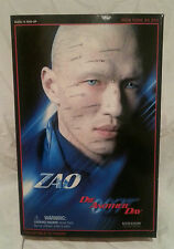 "SIDESHOW 12"" 007 JAMES BOND RICK YUNE ZAO ""DIE ANOTHER DAY"" FIGURE...NEW IN BOX"