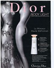 PUBLICiTE ADVERTISING 094 1999 DIOR Body light
