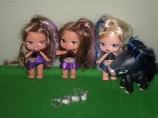 Bratz Babyz Petz Horse Bottle Yasmin Cloe Brushable Rooted Hair Lot