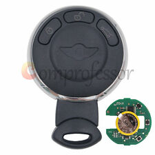 Smart Remote Key Fob CAS System 3Button 433 Mhz ID46 for Mini Cooper 2007-2014