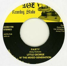 Little George N' The Mixed Generation - Listen /Party -AOTN - Limited reissue 45
