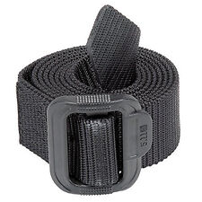 "5.11 TDU TACTICAL BELT 1.5"" POLICE SECURITY PATROL NYLON + PLASTIC BUCKLE BLACK"