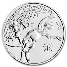 The Royal Mint Monkey 2016 1 oz .999 Silver Coin