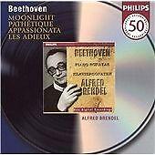 Beethoven: Piano Sonatas 8, 14, 23, 26, Alfred Brendel, New Original recording r