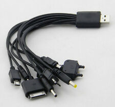 10 in 1 Universal Samsung Multi iPhone Mobile Phone USB iPod Charger Cable