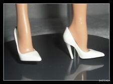 SHOES MATTEL BARBIE DOLL JLO  MODEL MUSE WHITE POINT TOE PUMPS HIGH HEELS